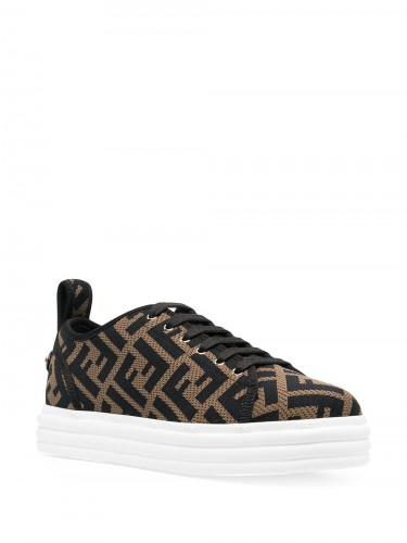 FENDI, Multi FF Sneakers