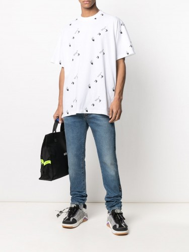 OFF-WHITE, Multi Logo T-shirt