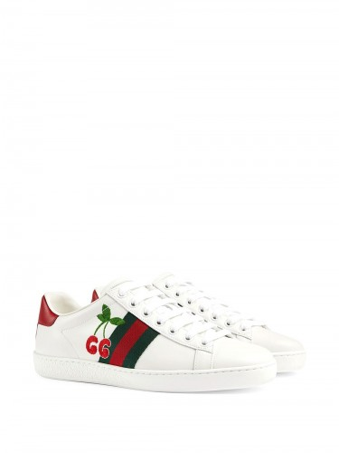 GUCCI, Cherries Ace Sneakers