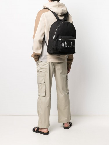 AMIRI, Logo Backpack