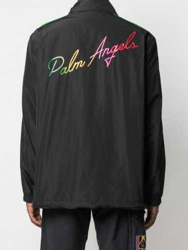 PALM ANGELS, Miami Logo Jacket