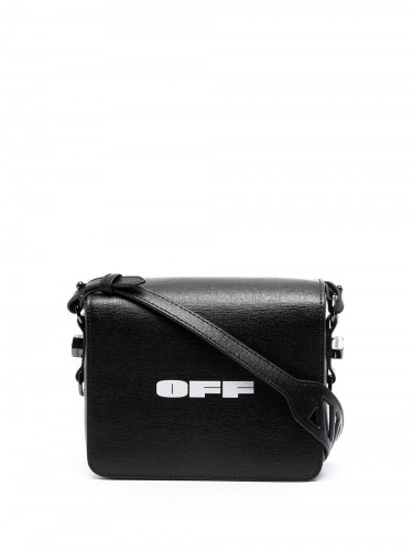 OFF-WHITE, Logo Flap Bag