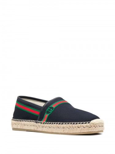 GUCCI, Embroidered Espadrille