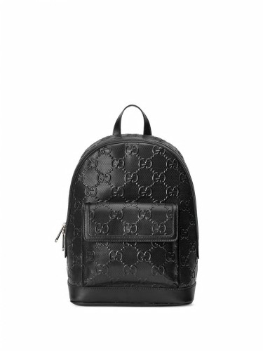GUCCI, GG embossed backpack