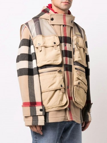 BURBERRY, Check Technical...